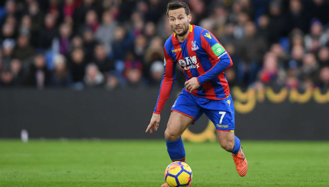 Yohan Cabaye of Crystal Palace