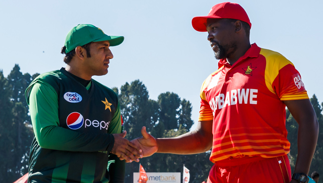 Pakistan and Zimbabwe line up in an ODI today in Bulawayo