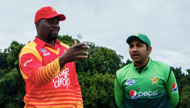 Hamilton Masakadza has won the toss and elected to bat in the second ODI.