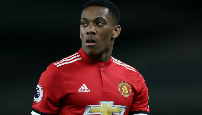 New father: Anthony Martial.