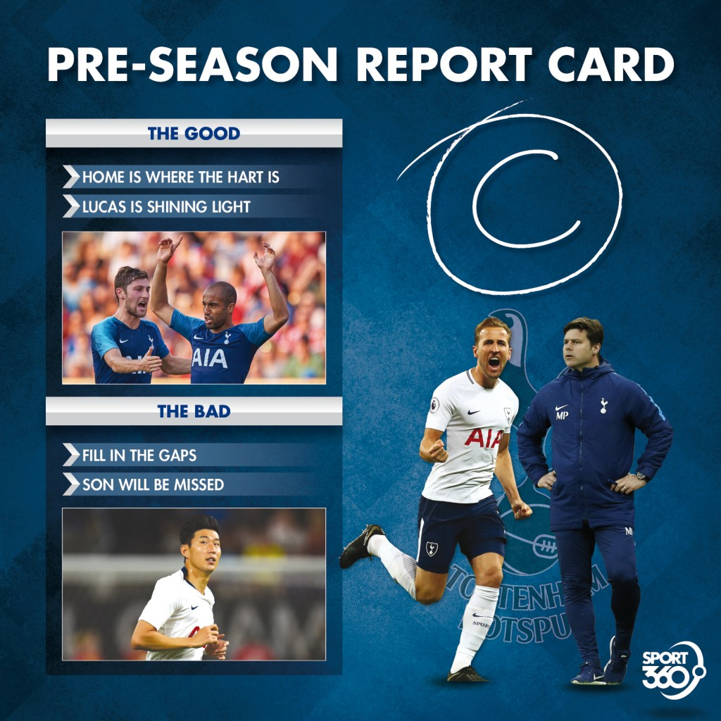 08 08 Pre-season report card Tottenham