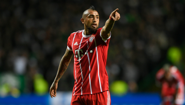 Vidal spent three seasons with Bayern Munich.