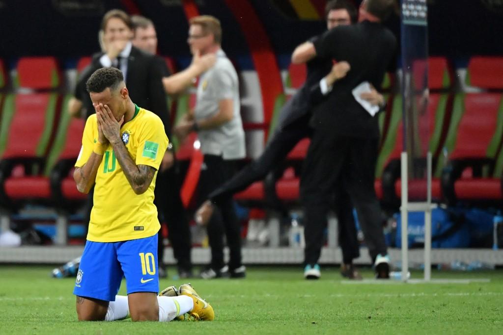 The spotlight is always on Neymar.