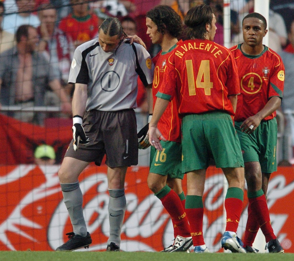 Carvalho and Andrade (R) were at the heart of Portugal's run to the final.