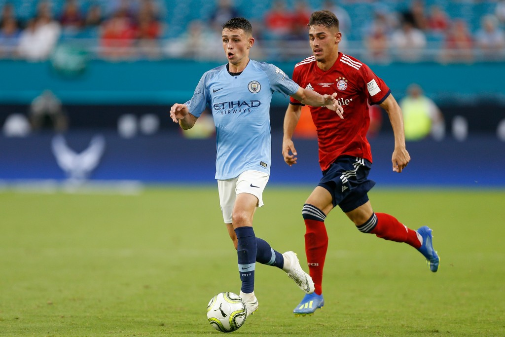 Foden already looks at ease in City's first team.