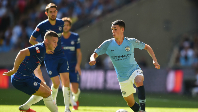 Phil Foden shone for City in the Community Shield win.