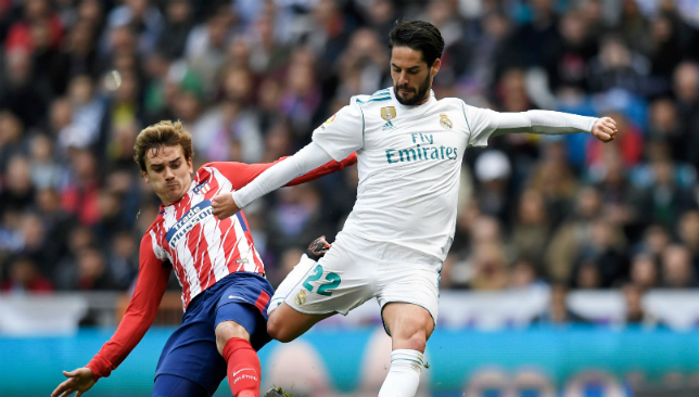 Real Madrid and Atletico Madrid face off in the UEFA Super Cup.