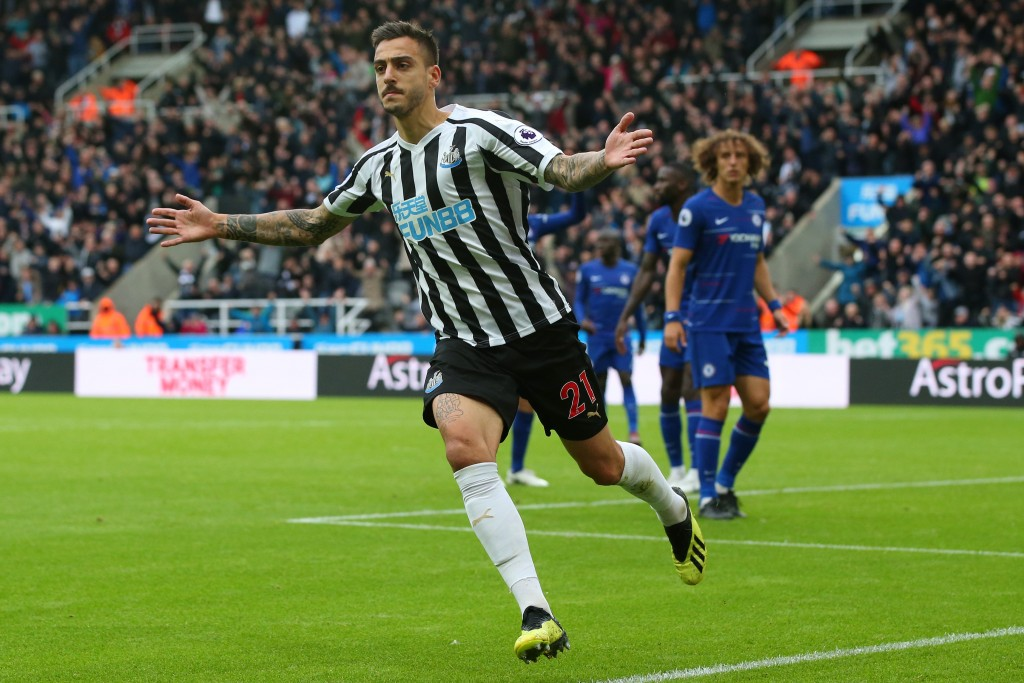 Joselu made a telling impact from the bench.