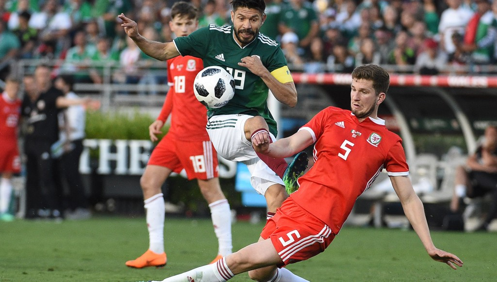 Chris Mepham earned his Wales debut against Mexico in June.
