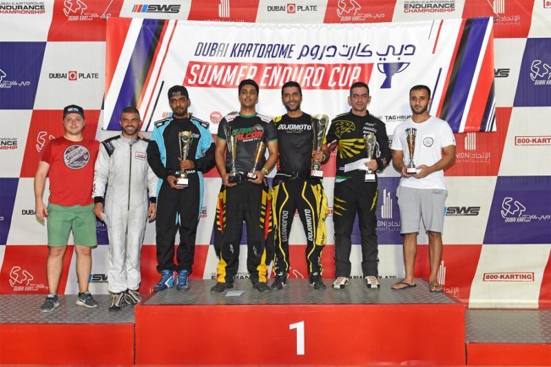 Summer Enduro Cup Championship Podium.