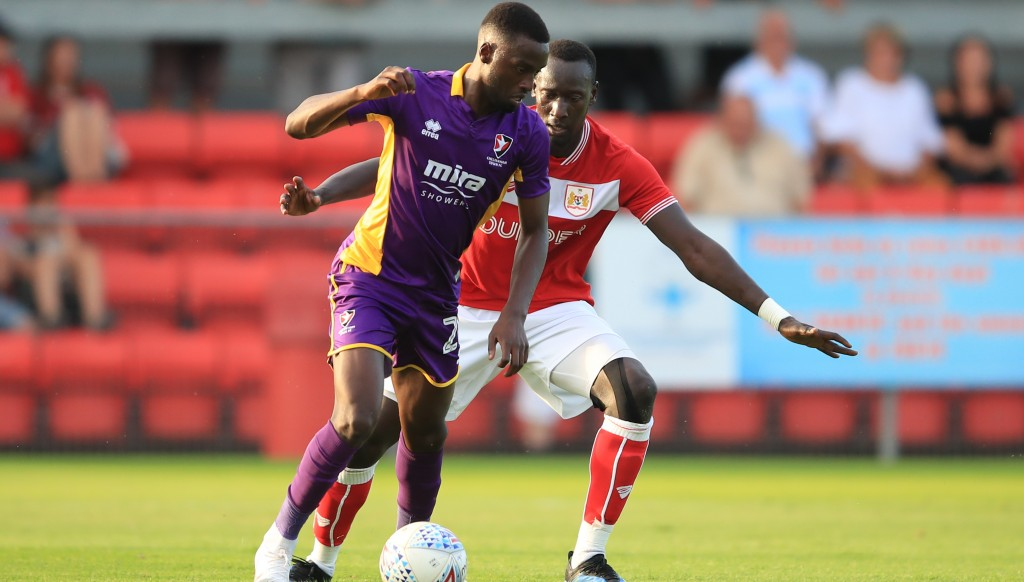 Mo Eisa moved from Cheltenham to Bristol City a few weeks ago.