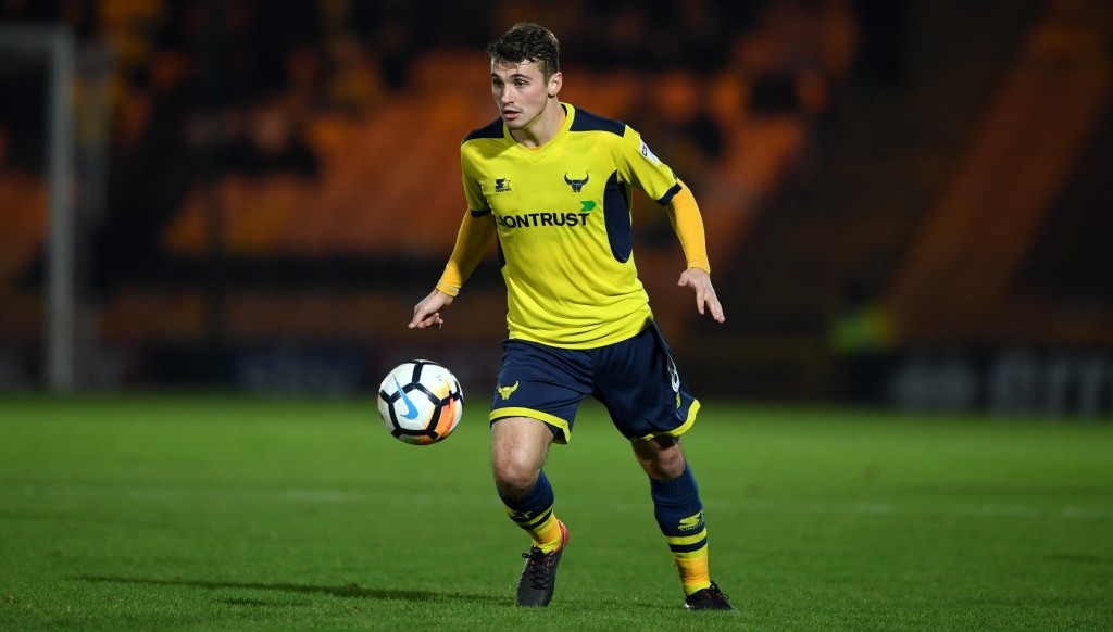 Ledson in action for Oxford.