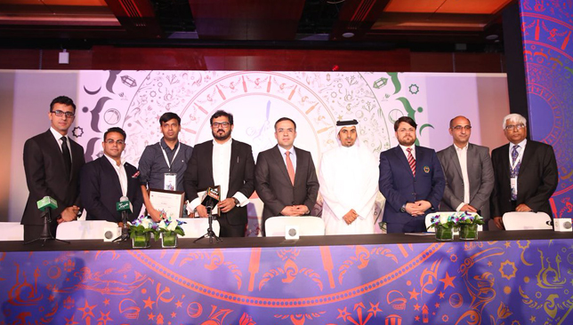 The Afghanistan Premier League was launched in Dubai on Monday. Image: ACB/Twitter.