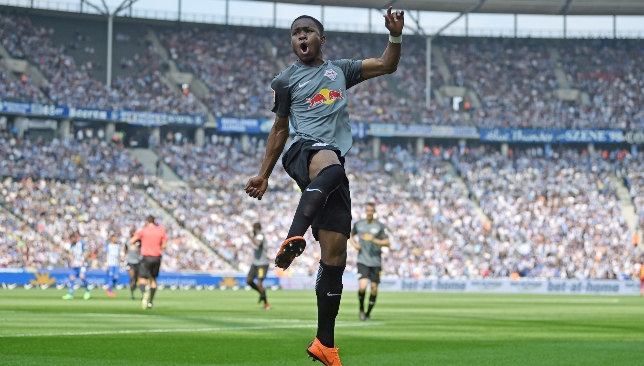 Ademola Lookman was an instant hit on loan with Leipzig last season.