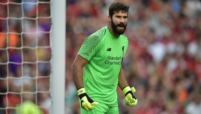 Alisson has been in great form this season