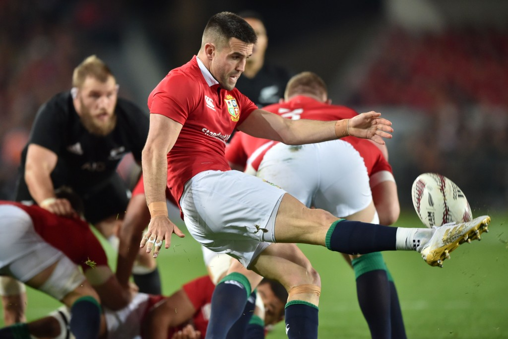 An accurate kicking game is crucial to beat the All Blacks