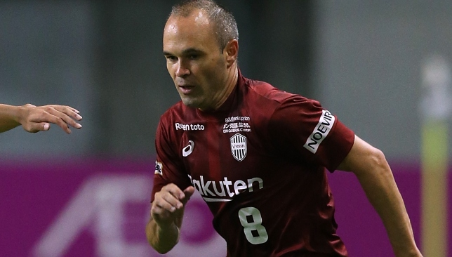 Icon of the game: Andres Iniesta.