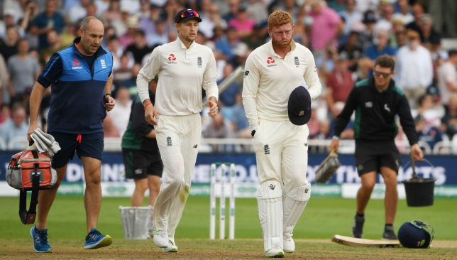 Bairstow had injured his finger in the third Test against India.
