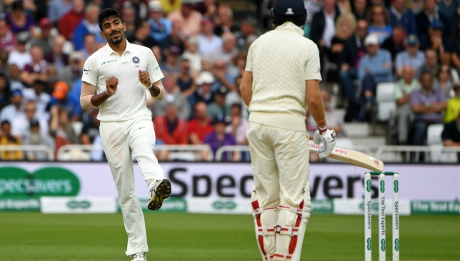 Bumrah had starred in India's 203-run win at Trent Bridge.