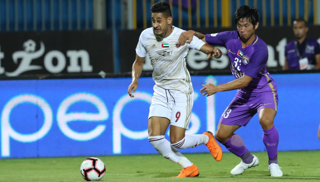 Mourad Batna scored one and set up another in a fine display for Wahda.