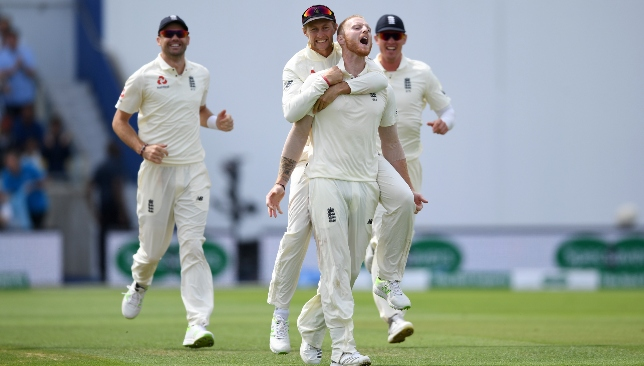 Ben Stokes ended India's challenge.