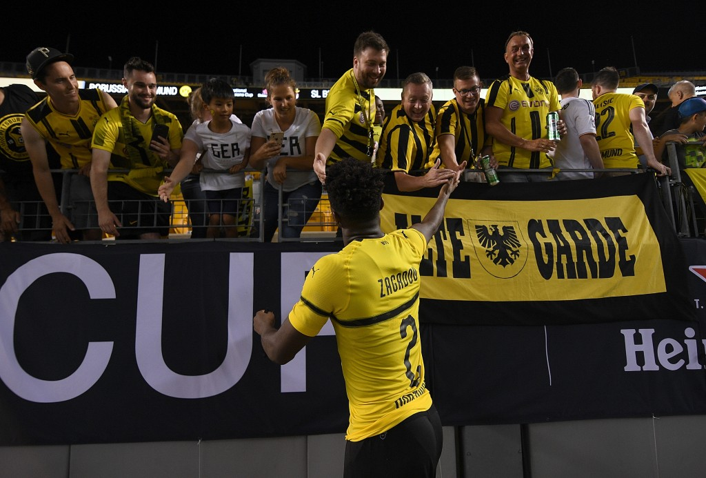 Borussia Dortmund fans are looking forward to another Champions League campaign