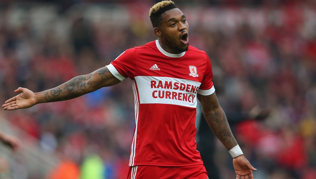 Britt Assombalonga of Middlesbrough - could he be on the move today?