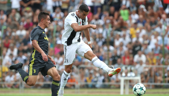 Ronaldo has played in two friendlies for Juve so far and will start against Chievo in Serie A on Saturday.
