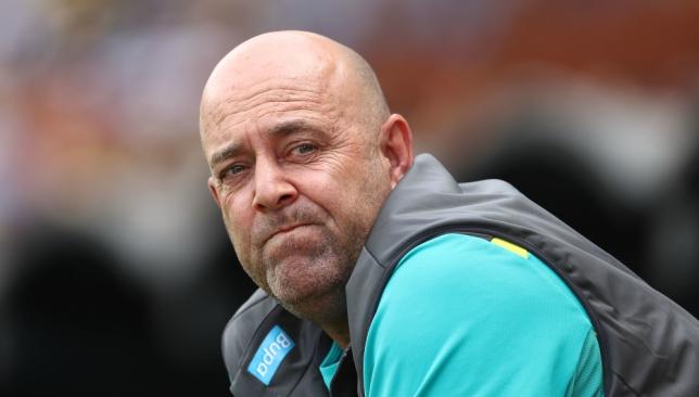 Lehmann has defended his tenure as coach of Australia.
