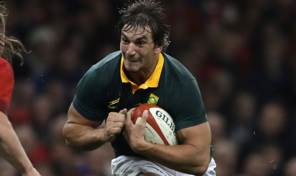 Eben Etzebeth has been out for nine months with a shoulder injury