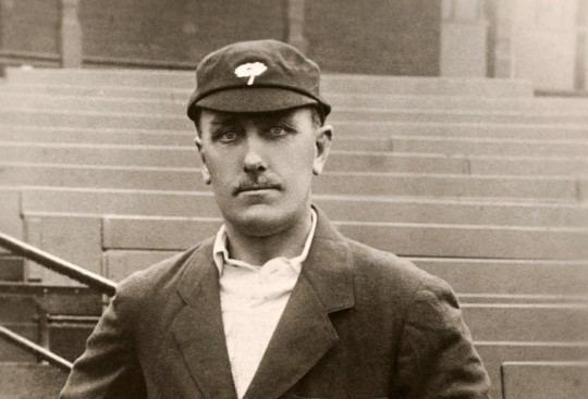 Wilfred Rhodes spun out Australia.