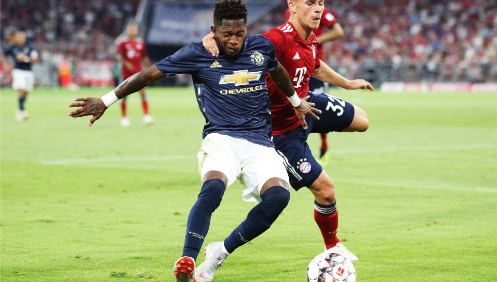<> at Allianz Arena on August 5, 2018 in Munich, Germany.