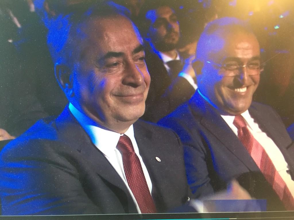 The smug gentleman from Turkey
