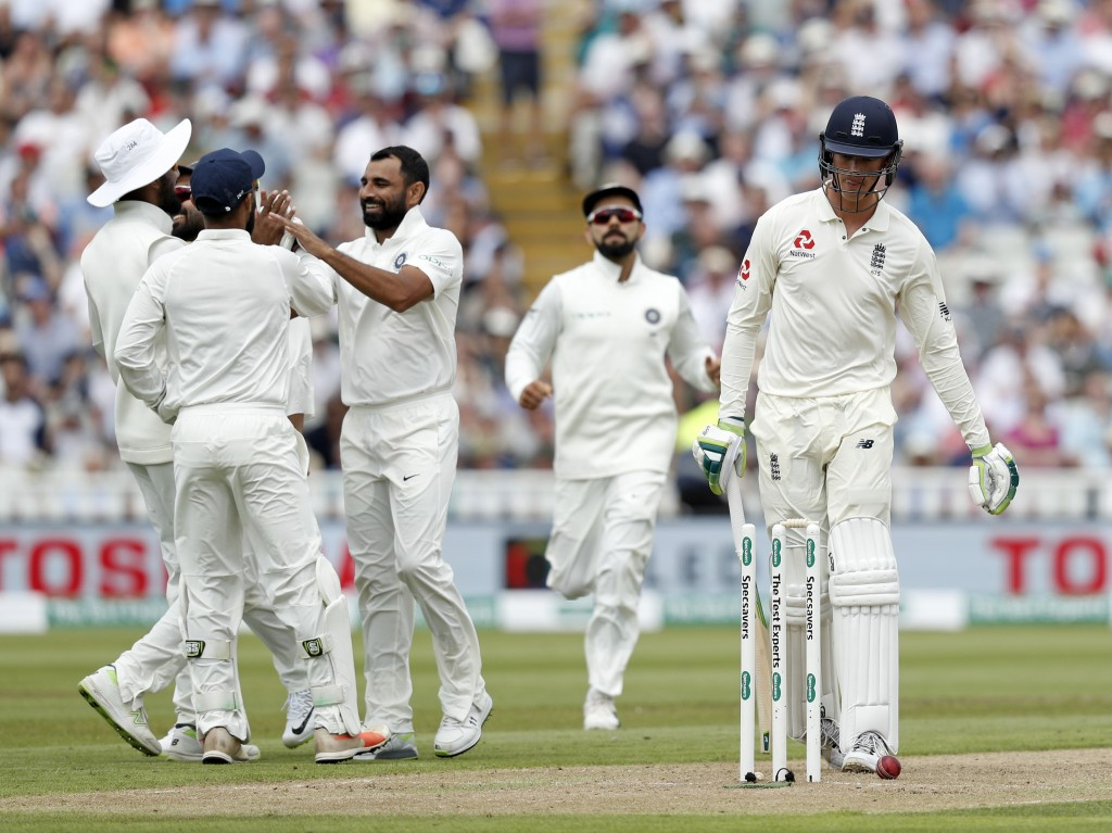 Shami's double-strike pulled India back into the game.