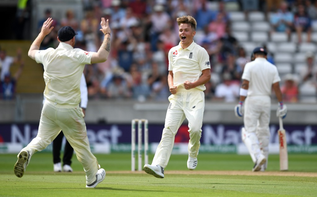 Curran was the pick of England's pacers on Thursday.