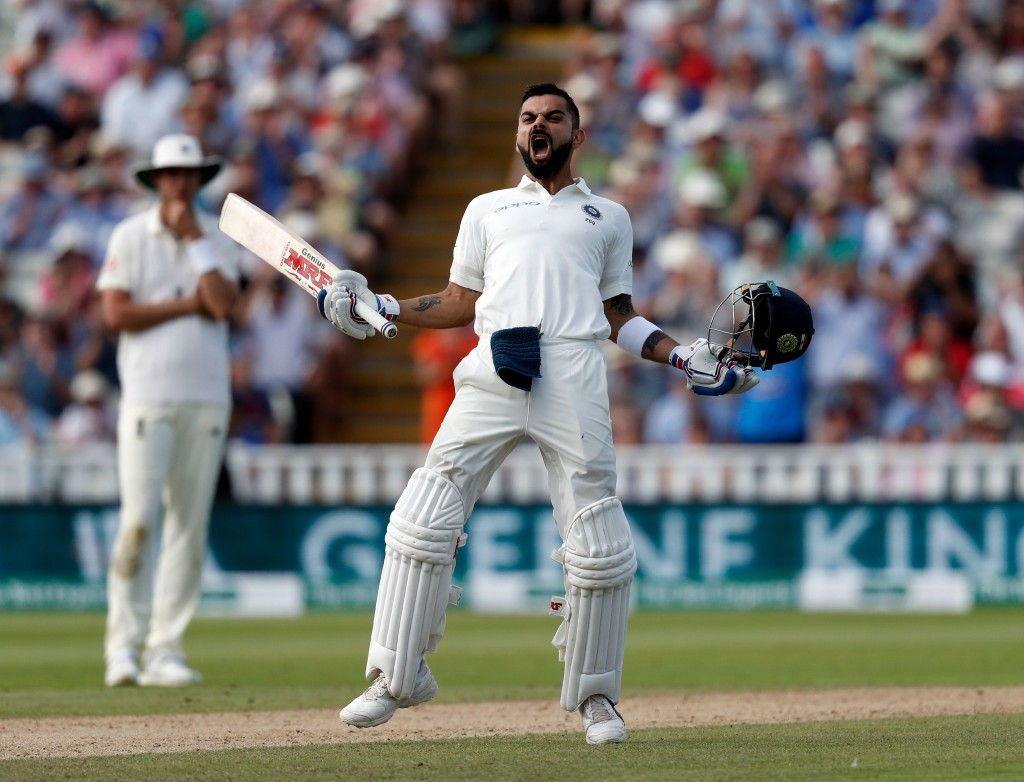 Kohli buried the ghosts of his 2014 tour in one single innings of defiance.