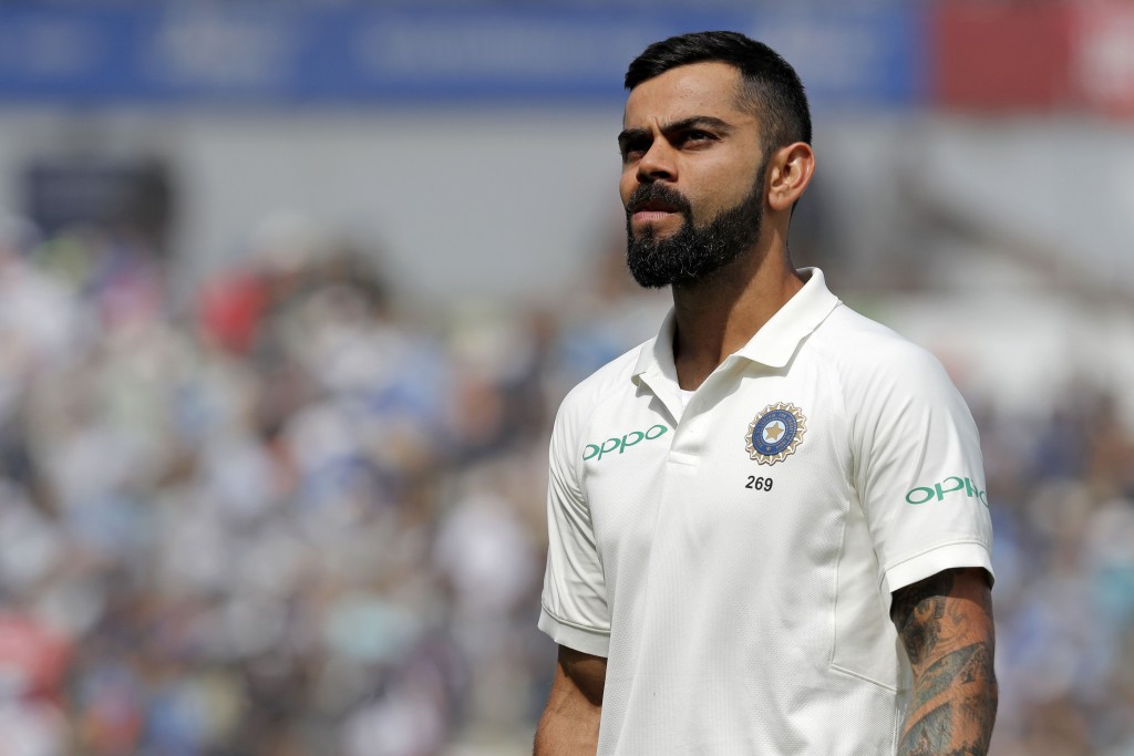 Kohli's tendency to poke outside the off-stump came back to bite him.