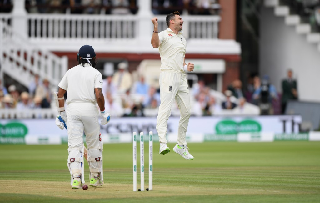 Anderson picked up his 26th five-wicket haul in Tests.