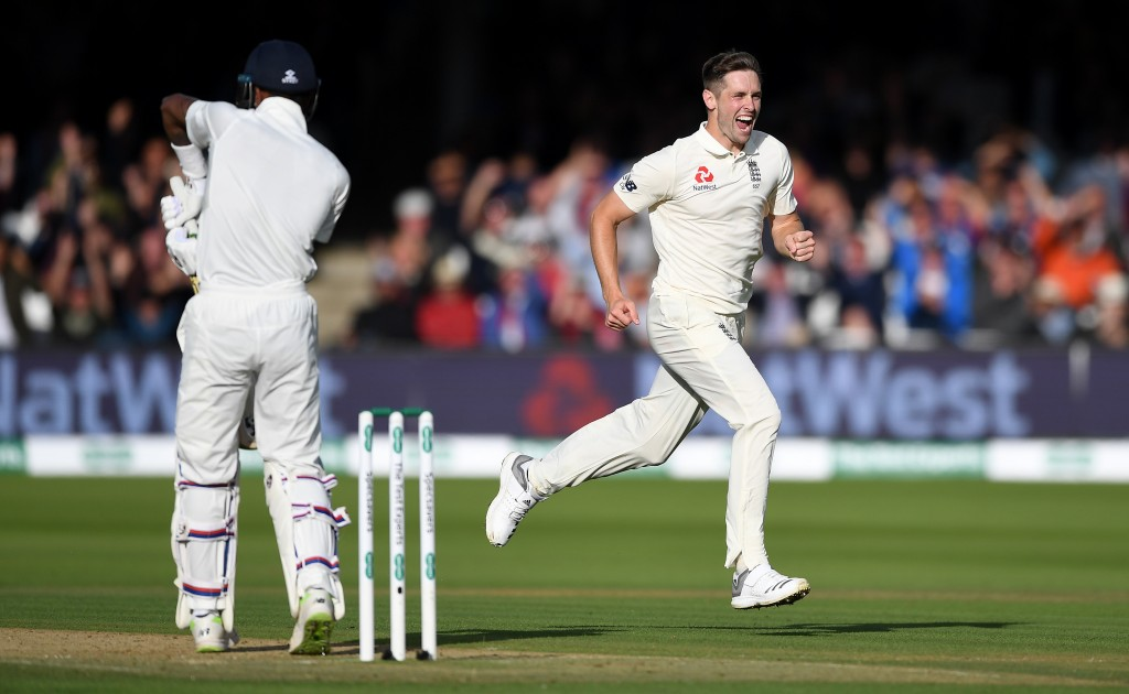 Woakes more than made up for Stokes' absence.
