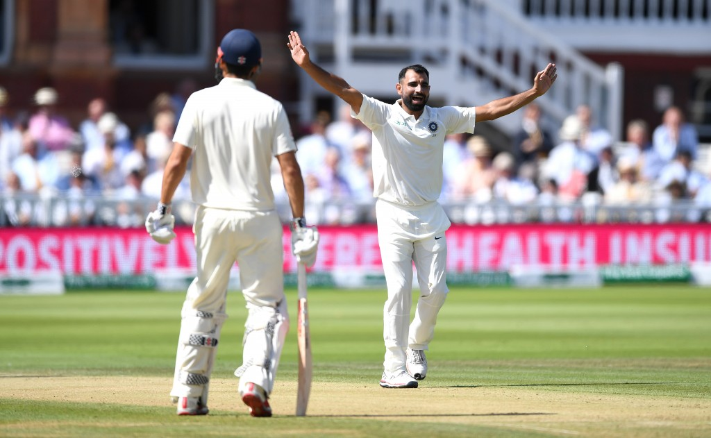 Lack of control plagued Shami at Trent Bridge.