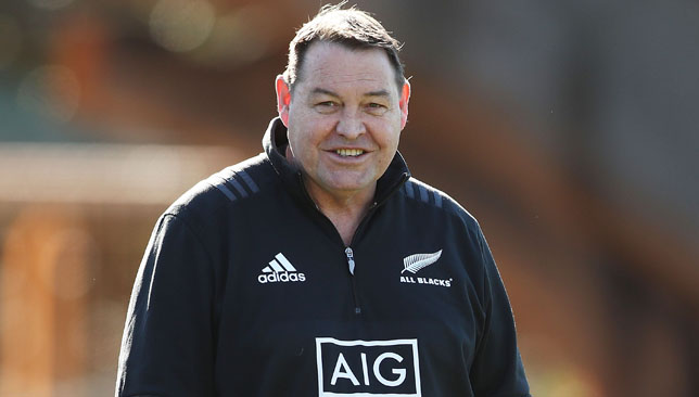 Steve Hansen's All Blacks have not played England since 2014.