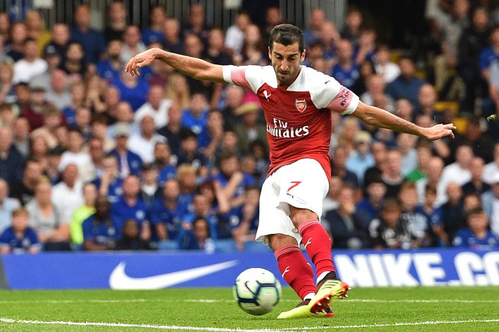 Henrikh Mkhitaryan got Arsenal back into it.