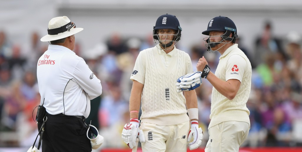 Root was not at all happy with the umpire's decision.