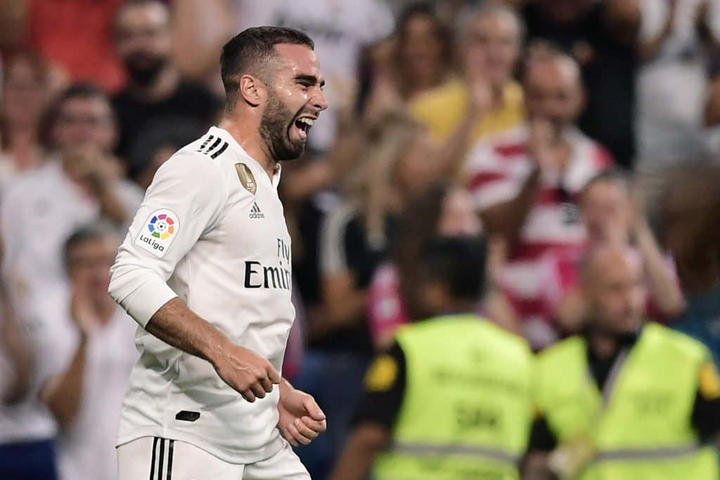 Dani Carvajal netted Real Madrid's opening goal of the LaLiga season