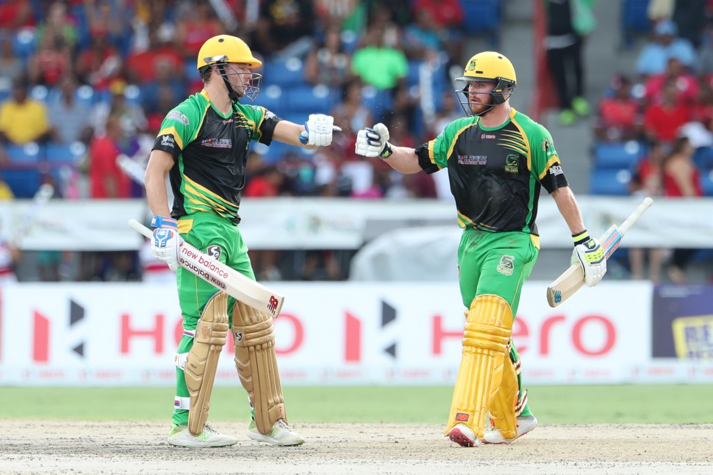 Phillips and Millers shored up Jamaica's innings.