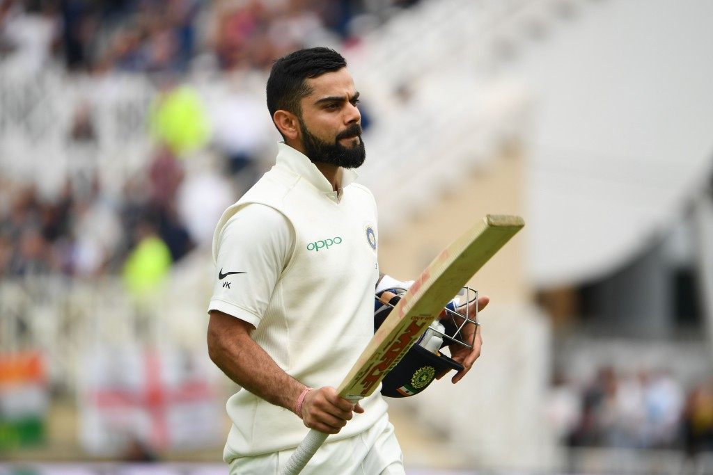 Kohli has already registered two tons in the ongoing series.