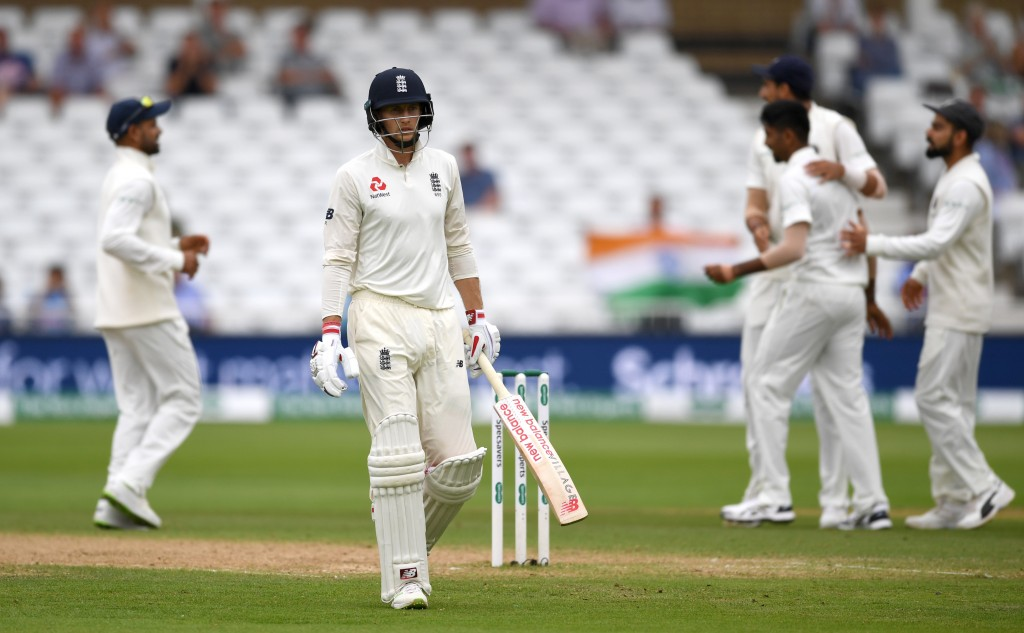 Joe Root has struggled for runs in his last four innings.