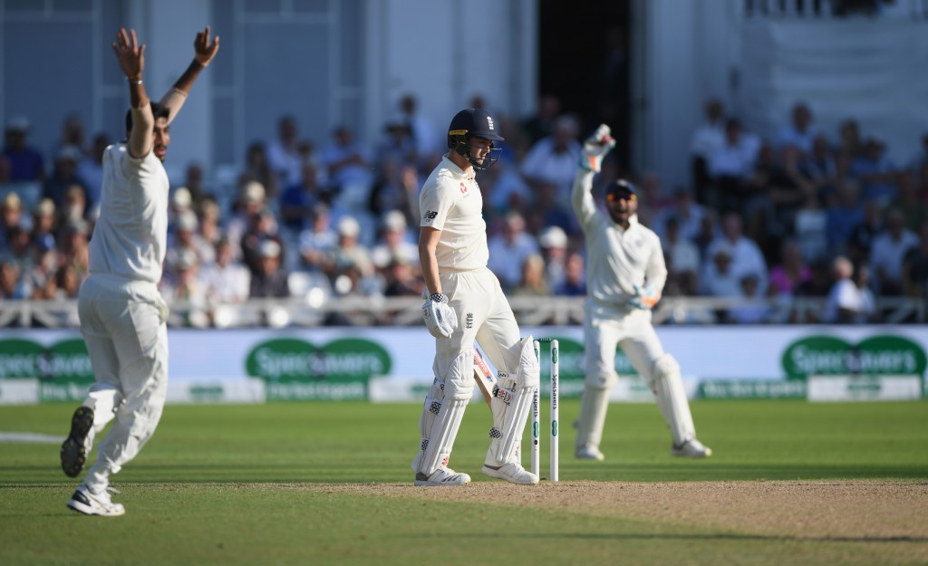 Bumrah picked up 5-85 in England's second innings at Trent Bridge.