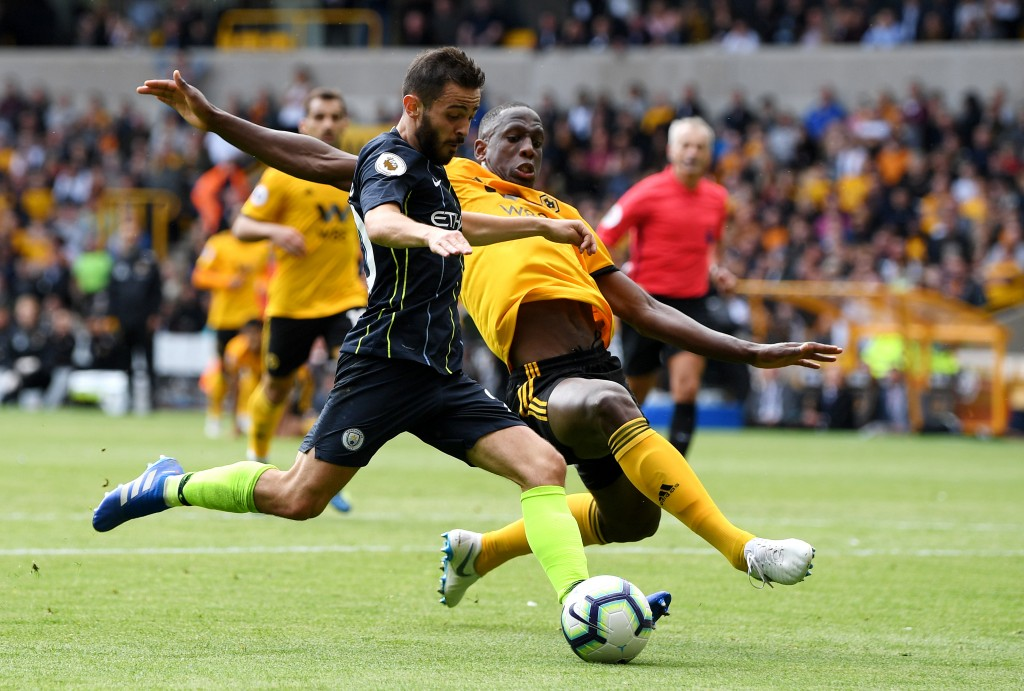 Willy Boly was excellent for Wolves in their 1-1 draw with Manchester City