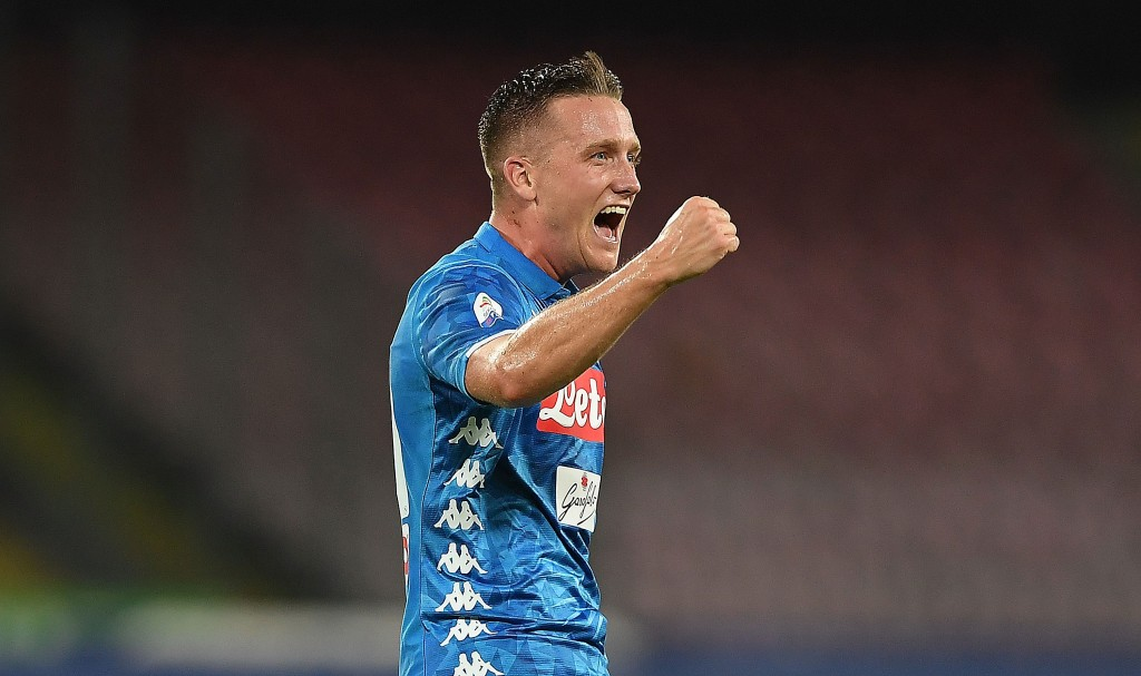 Piotr Zielinski netted a brace for Napoli in their comeback win against AC Milan